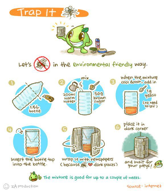 Environmentally Friendly Way To Trap Mosquitoes Little Chumsys Blog
