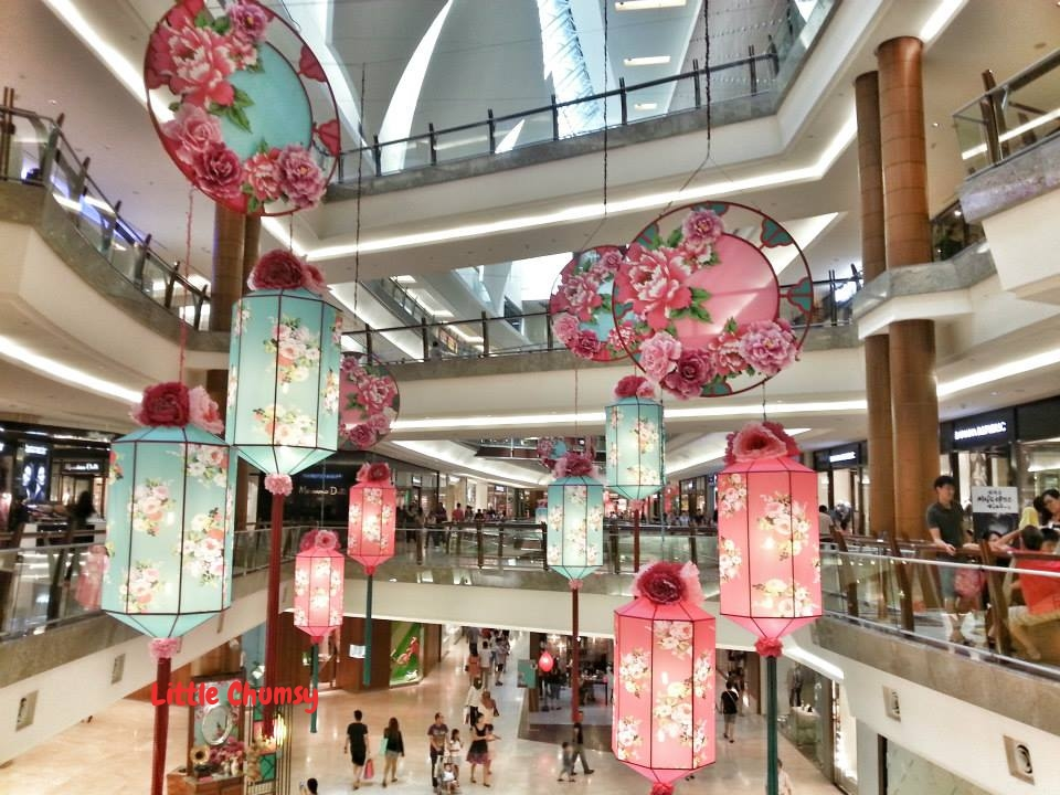 My favourite shopping mall decor this chinese new year for Shopping in cina