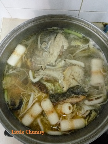 Salmon fish head soup little chumsy 39 s blog for Fish head soup recipe