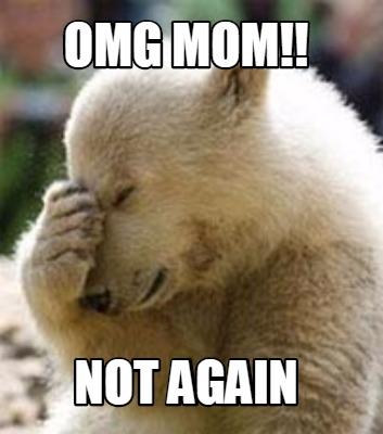 no mom